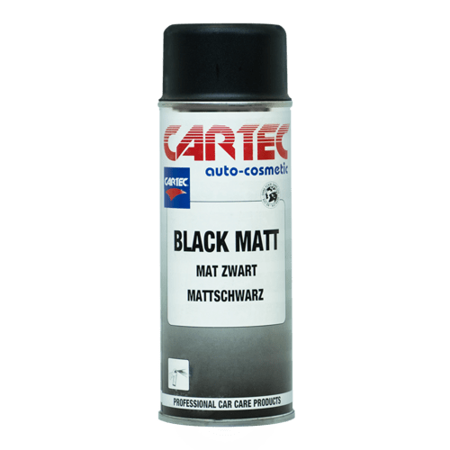 Black Matt Spray 0,4 liter